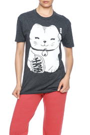 Iheart Fortune Cat Tee - Front cropped