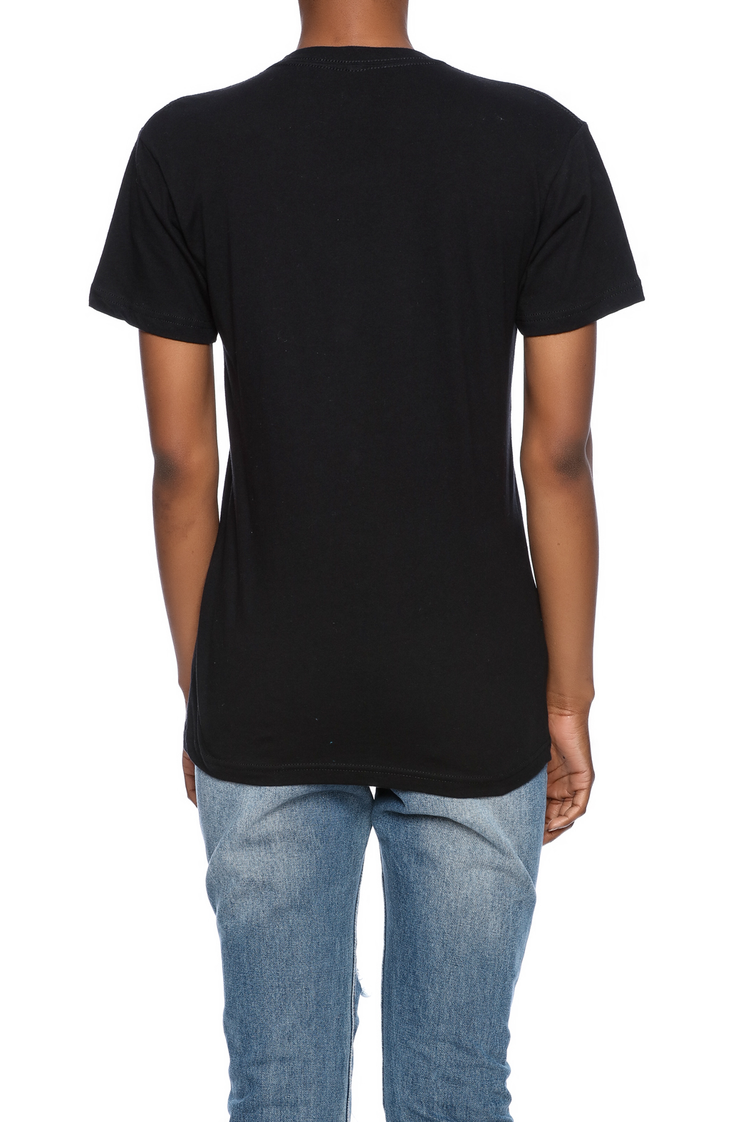 Iheart Stay Rad Tee - Back Cropped Image