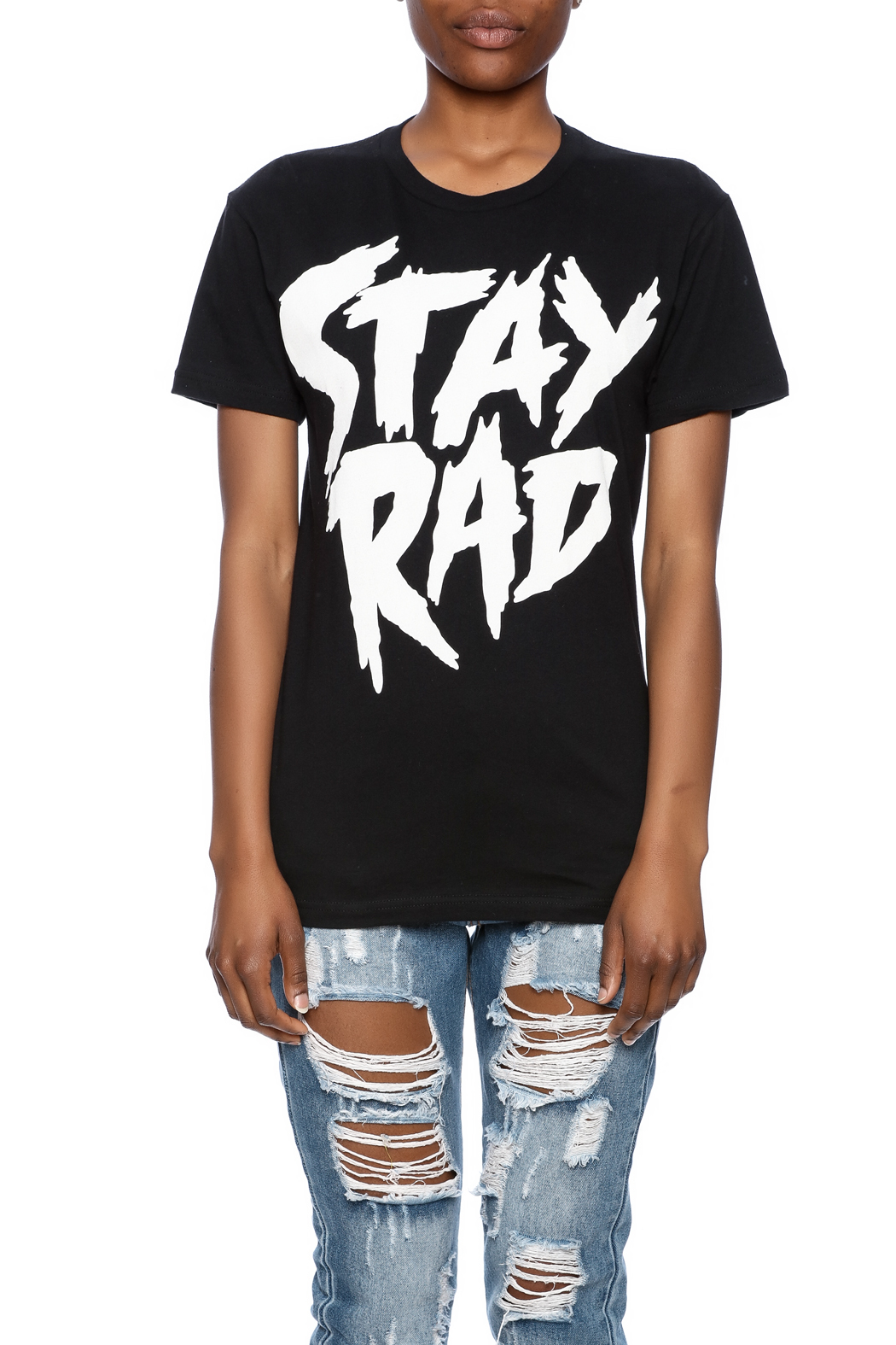 Iheart Stay Rad Tee - Side Cropped Image
