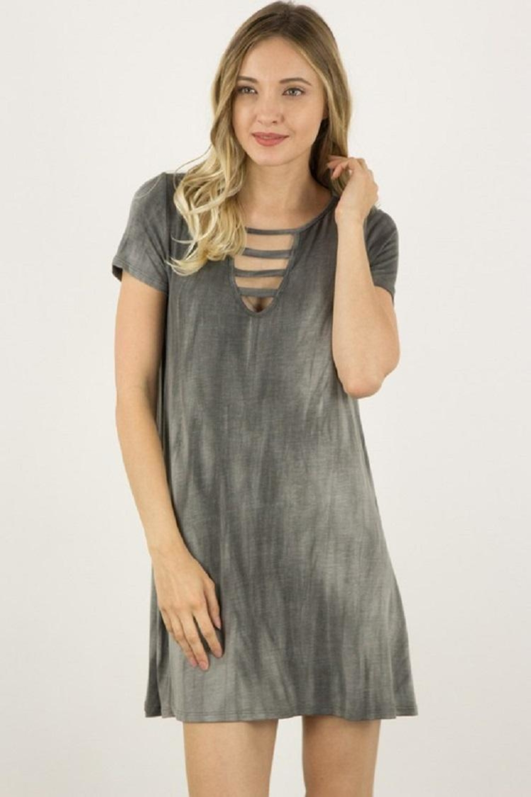 ijoah Jersey Dress - Front Cropped Image