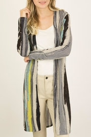 ijoah Multicolor Lightweight Cardigan - Front cropped