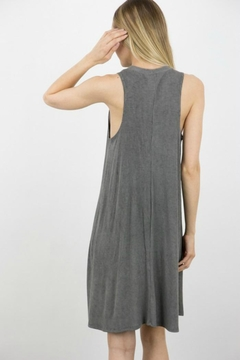 ijoah Ribbed Flair Dress - Alternate List Image