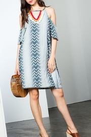 THML Clothing Ikat Dress - Front cropped
