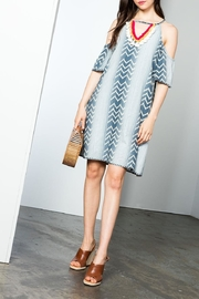 THML Clothing Ikat Dress - Side cropped