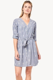 Lilla P Ikat Shirt Dress - Product Mini Image