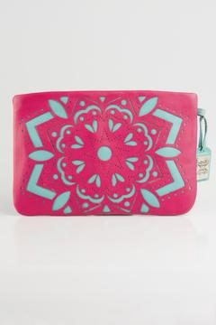 Shoptiques Product: Pink Leather Clutch