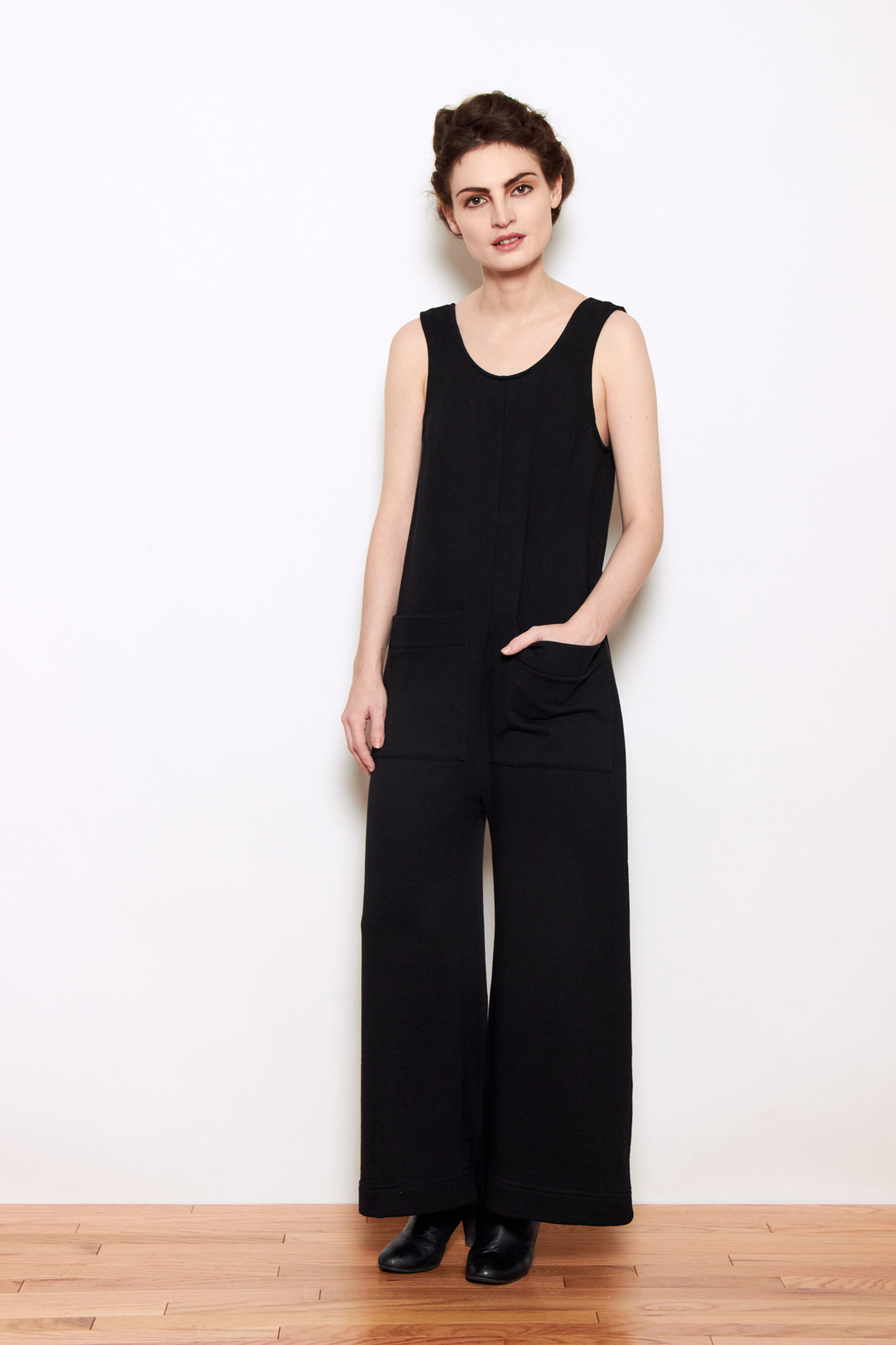 73a5f3066ba Ilana Kohn French Terry Milo Jumpsuit from West Village by PERSONNEL ...