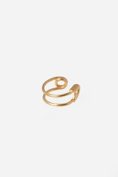 Ileana Makri Gold Ear Cuff - Alternate List Image
