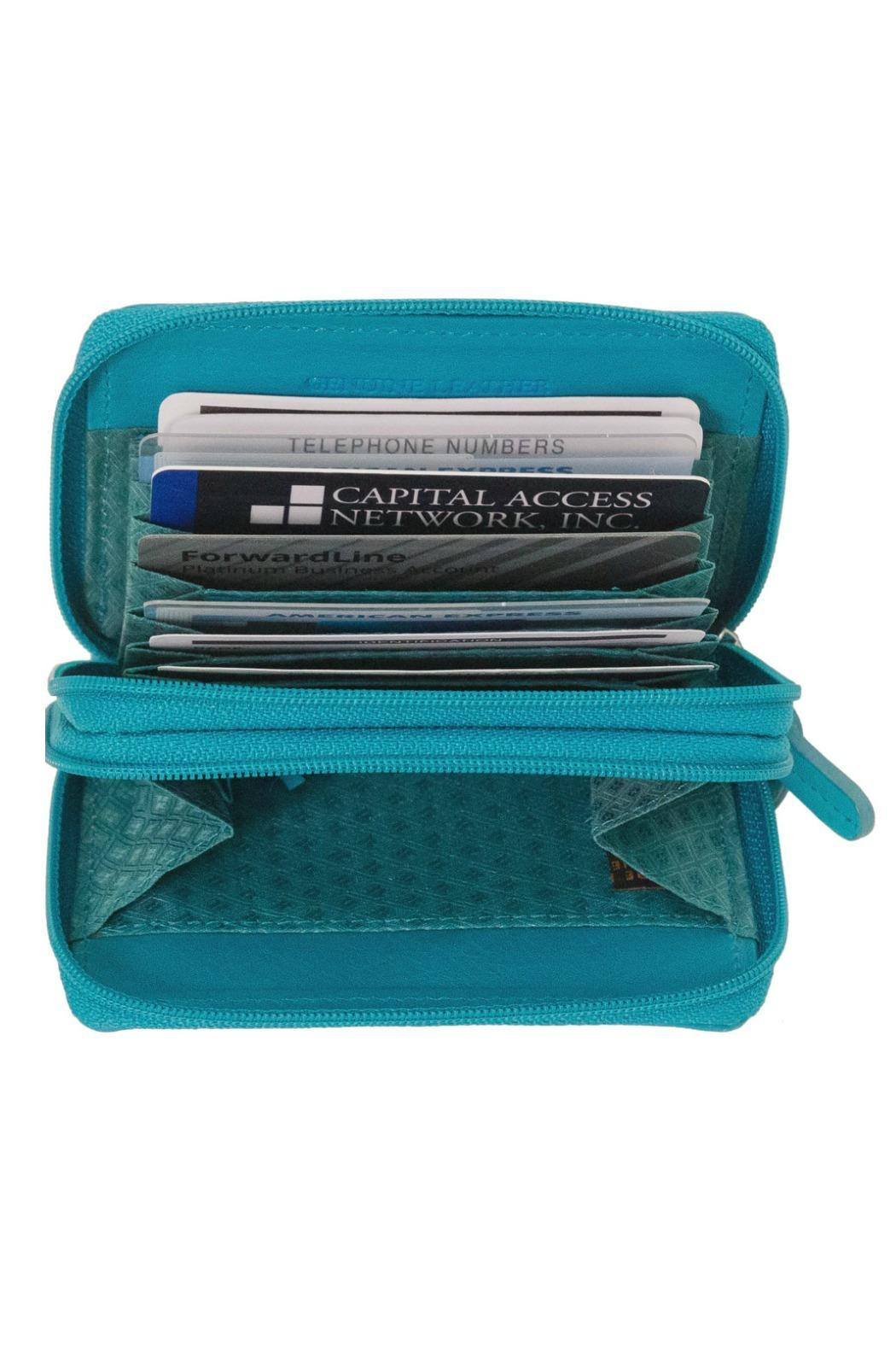 ILI Accordian Card Case - Side Cropped Image