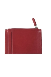 ILI Leather Card Case - Front full body