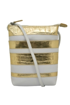 ILI White & Gold Crossbody Bag - Alternate List Image