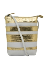 ILI White & Gold Crossbody Bag - Product Mini Image