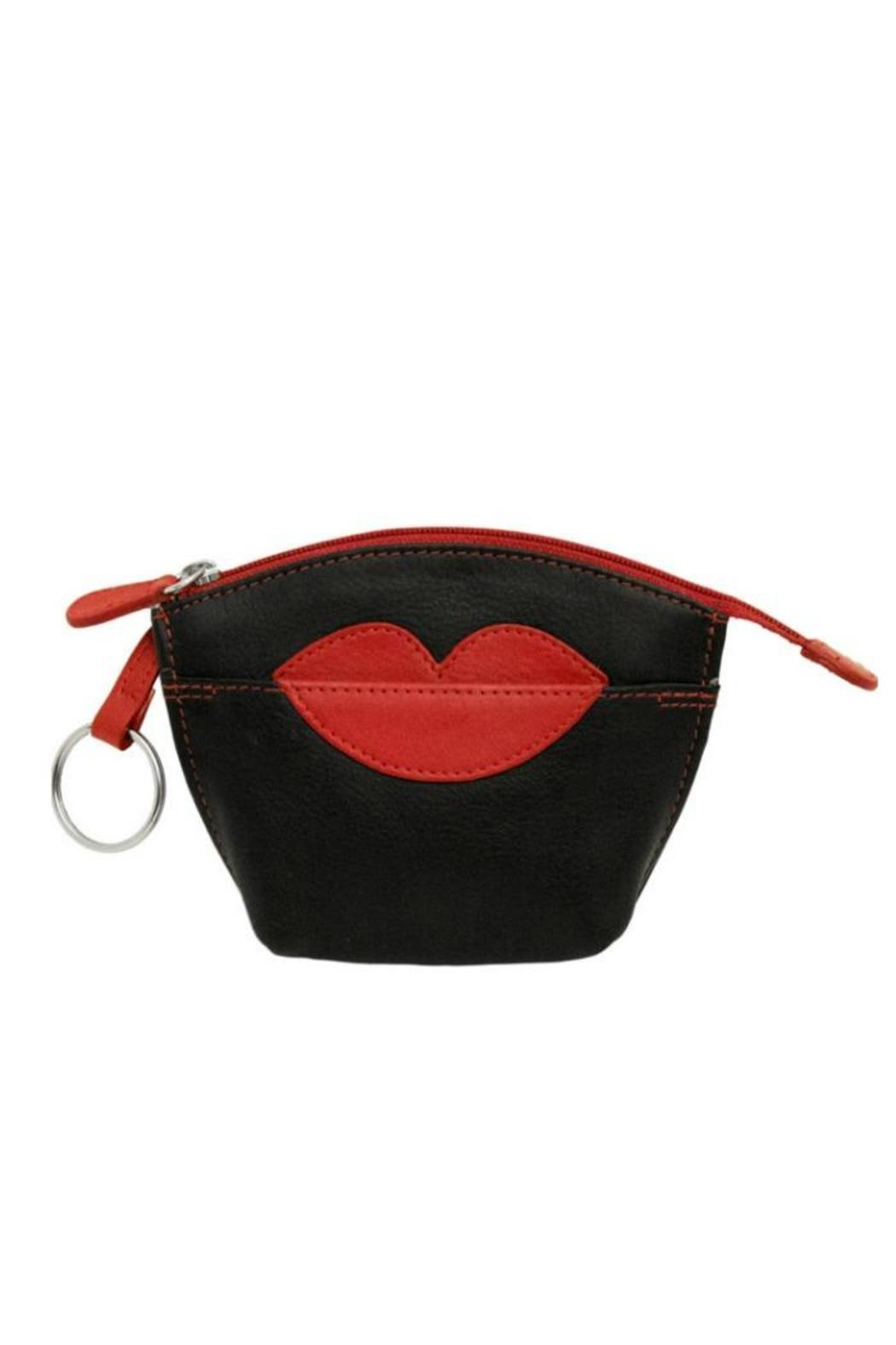 ILI  New York Lips Coin Purse - Front Cropped Image