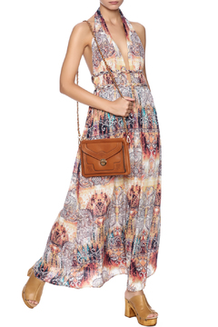 Shoptiques Product: Print Halter Maxi Dress