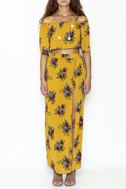 Illa Illa Mustard Skirt Set - Front full body