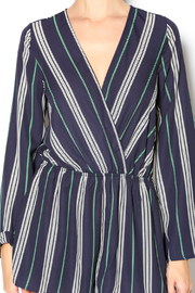 Illa Illa Navy Striped Romper - Other