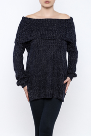 Illa Illa Off Shoulder Sweater - Front cropped
