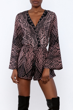 Shoptiques Product: Open Back Bell Romper