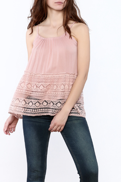 Shoptiques Product: Pink Lace Top