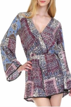 Illa Illa Bell Sleeved Romper - Product List Image
