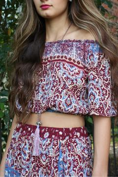 Shoptiques Product: Boho-Maxi Short Set