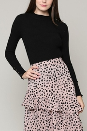 Illa Illa Cableknit Button Top - Other