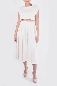 Shoptiques Product: Crop-Top Skirt Set