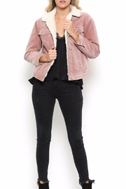 Illa Illa Dusty Pink Jacket - Product Mini Image