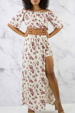 Shoptiques Product: Floral Maxi Set