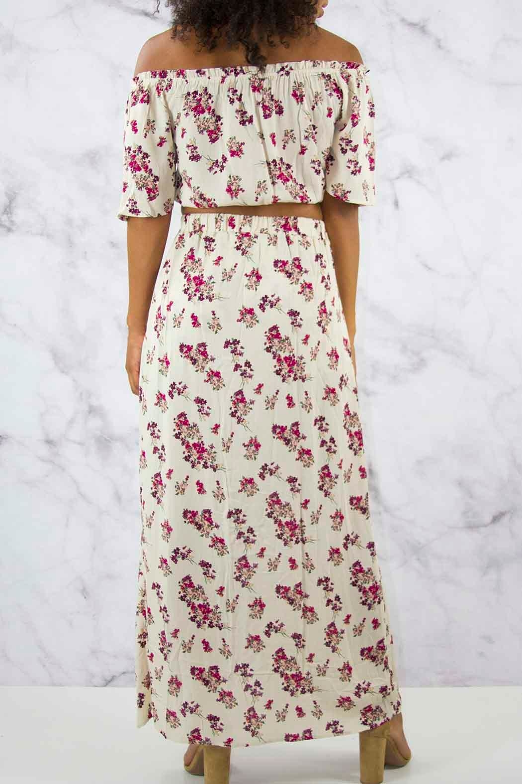 Illa Illa Floral Maxi Set - Side Cropped Image