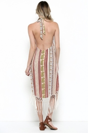 Illa Illa Fringe Halter Dress - Side cropped