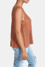 Illa Illa Oatmeal Knit Tank - Front full body