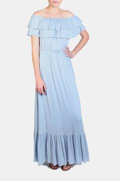 Shoptiques Product: Off The Shoulder Ruffle Dress