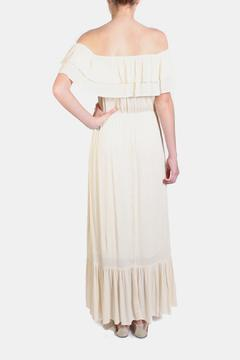 Shoptiques Product: Ruffle Gauze Maxi Dress