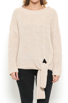 Shoptiques Product: Tie Bottom Sweater