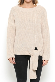 Illa Illa Tie Bottom Sweater - Product Mini Image