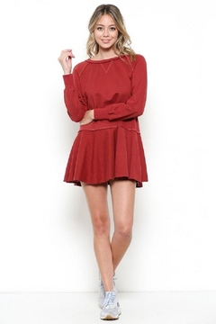 Shoptiques Product: Tie Ruffle Dress