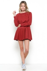Illa Illa Tie Ruffle Dress - Product Mini Image