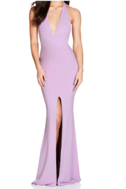 Nookie Illegal Halter Gown - Product Mini Image