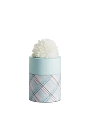 Illume  Sleigh-Bells Pompom Candle - Front cropped