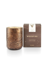 Illume  Woodfire Small Candle - Product Mini Image