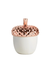 Illume Candles Copper Leaves Novelty Candle - Product Mini Image