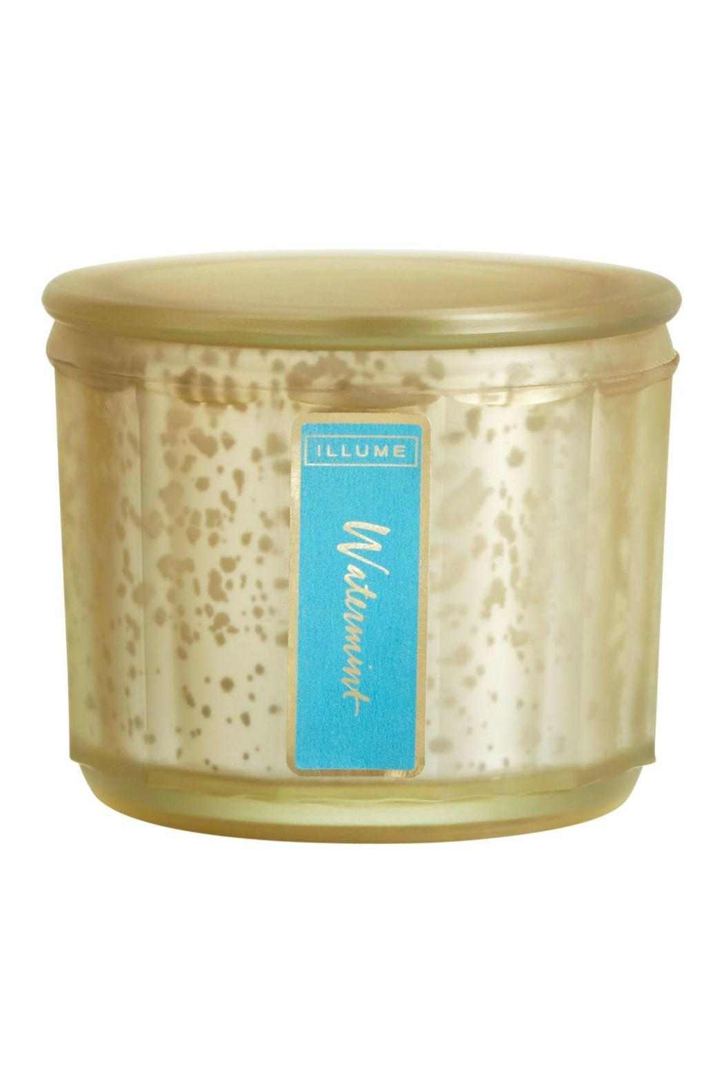 Illume Candles Watermint Luster Candle - Front Full Image
