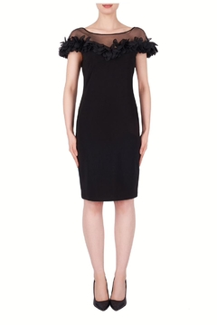 Joseph Ribkoff Illusion Bodice Dress - Product List Image