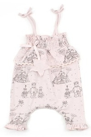 Hatch and Cloak Illustrated Harper romper mauve/pink - Product Mini Image