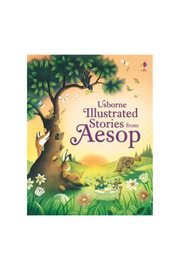Usborne Illustrated Stories From Aesop - Front cropped