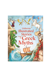 Usborne Illustrated Stories From The Greek Myths - Product Mini Image