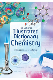 Usborne Illustrating Dictionary Of Chemistry - Front cropped