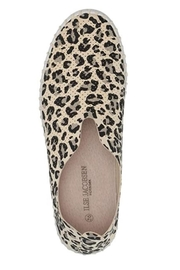 Ilse Jacobsen Leopard Print Slip-Ons - Side cropped
