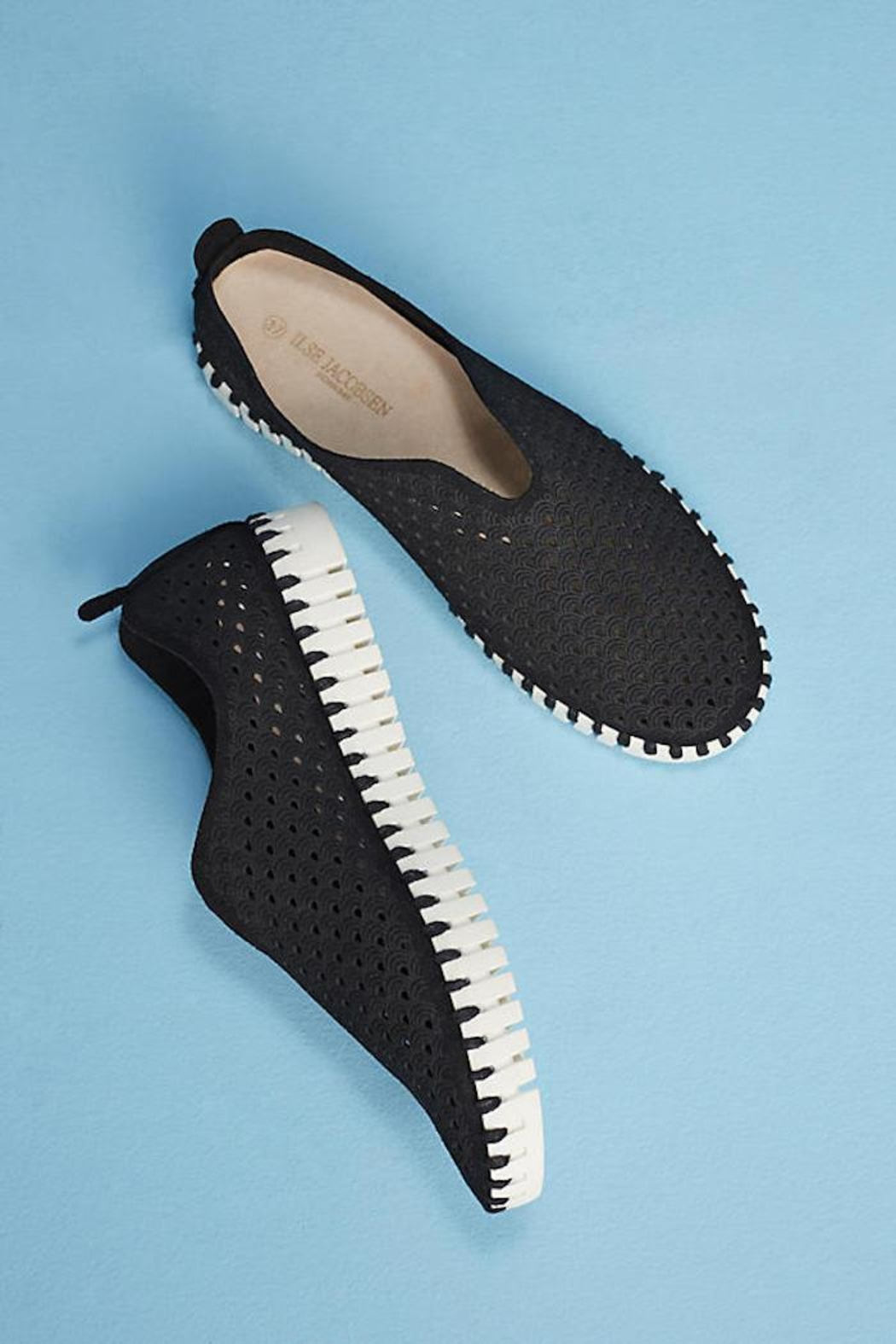 Ilse Jacobsen Tulip Perforated Sneaker - Main Image